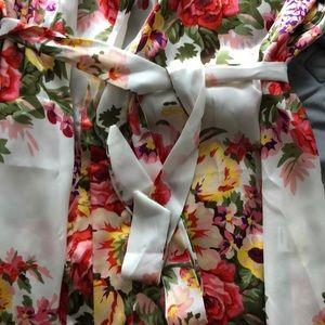Intimates & Sleepwear - Silk Style Robe